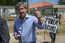 Ex-presidente do Sporting à saída do Tribunal de Monsanto