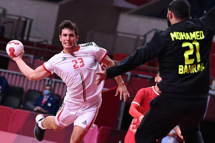 A seleção portuguesa de andebol venceu esta segunda-feira o Bahrain por 26-25