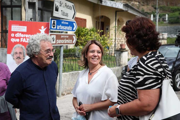 A coordenadora do BE, Catarina Martins