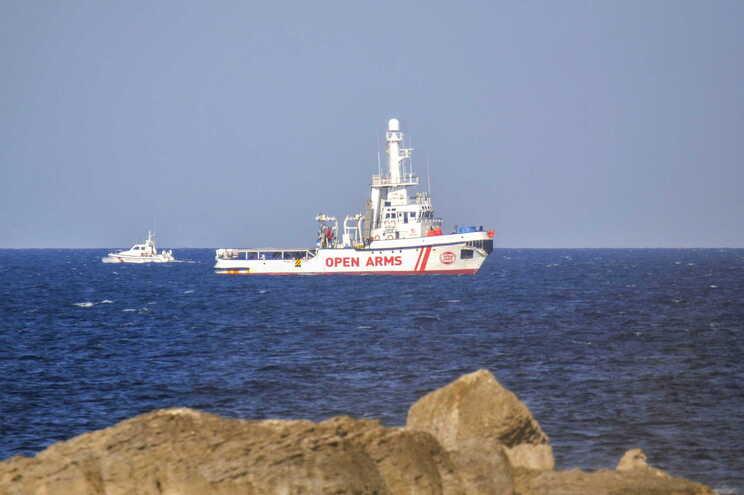 Embarcação da Open Arms