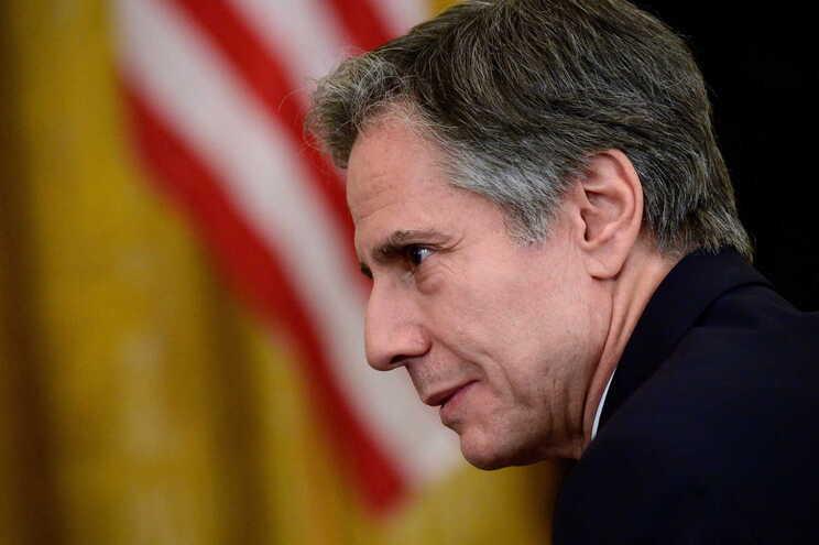 O secretário de Estado dos EUA, Antony Blinken