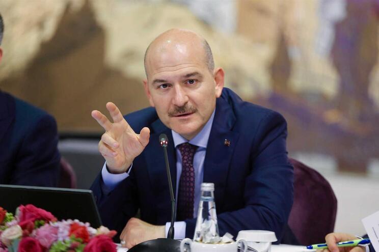 Ministro do Interior turco, Suleyman Soylu