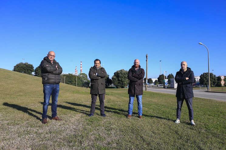 César, Carlos, João e Telmo acreditam que ainda é possível reverter a decisão de encerrar a Petrogal