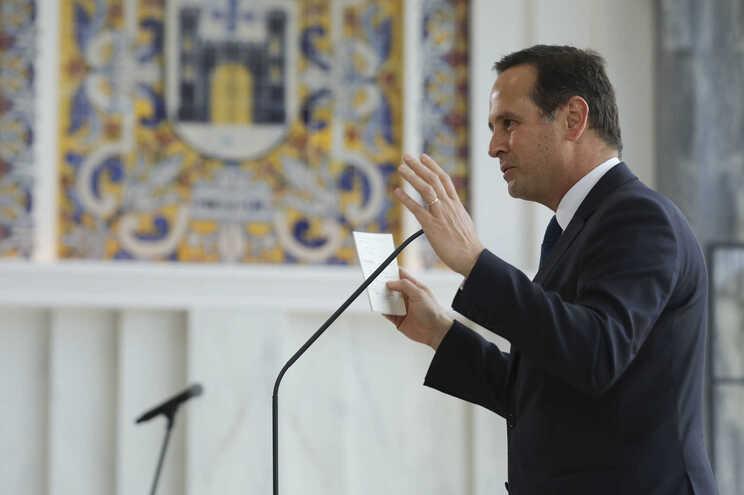 O presidente da camara Municipal de Lisboa, Fernando Medina