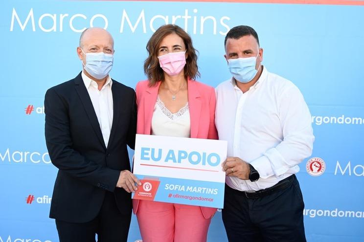 Fernando Paulo, Sofia Martins e Marco Martins