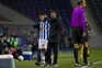 Otávio e Corona saíram tocados do jogo frente ao Nacional