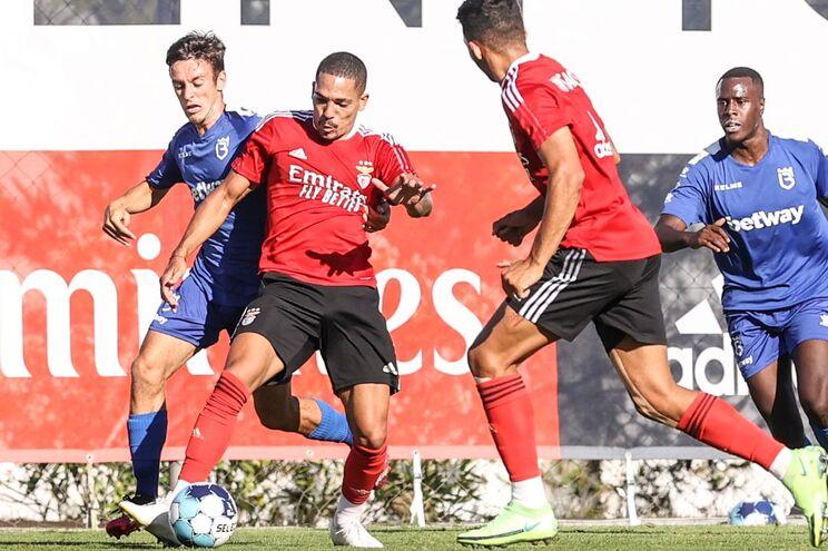 O Benfica empatou esta terça-feira