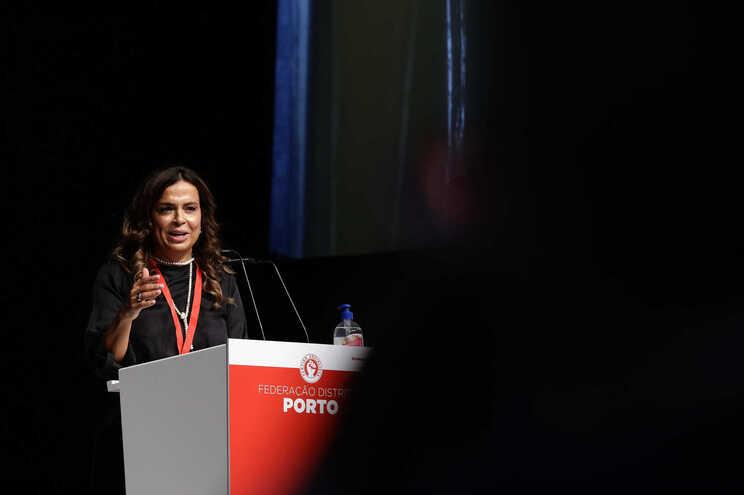 Luísa Salgueiro, presidente da Câmara de Matosinhos