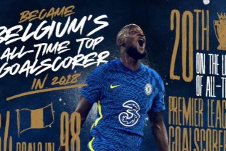 Internacional belga Lukaku está de regresso ao Chelsea