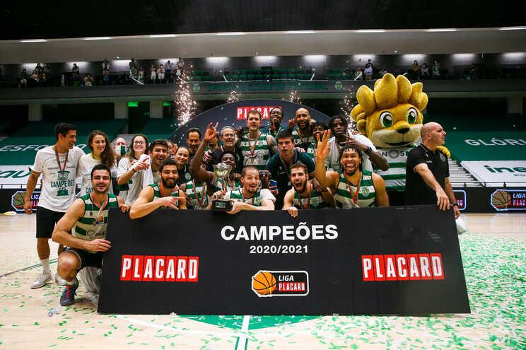 Sporting é o campeão nacional de basquetebol