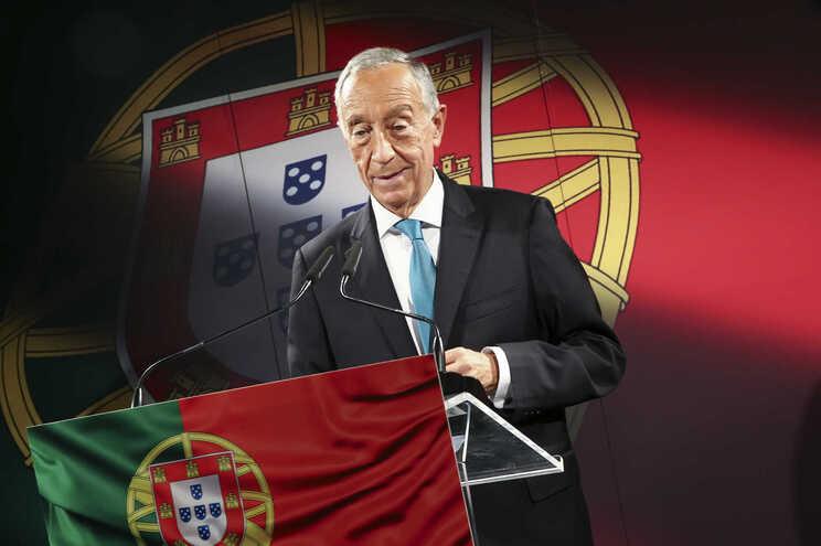 Marcelo Rebelo de Sousa anunciou decisão esta segunda-feira