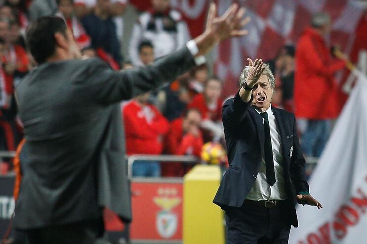 Rui Vitória venceu dois campeonatos em três possíveis enquanto Jesus esteve ao comando do Sporting