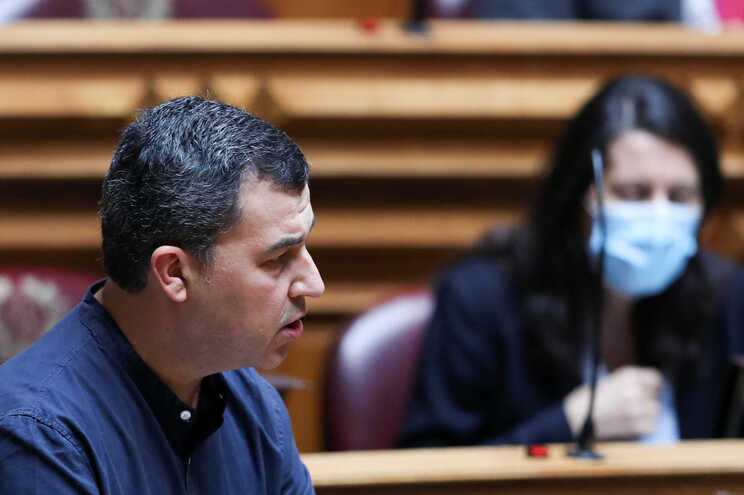 André Silva fez esta sexta-feira a última intervenção na Assembleia da República