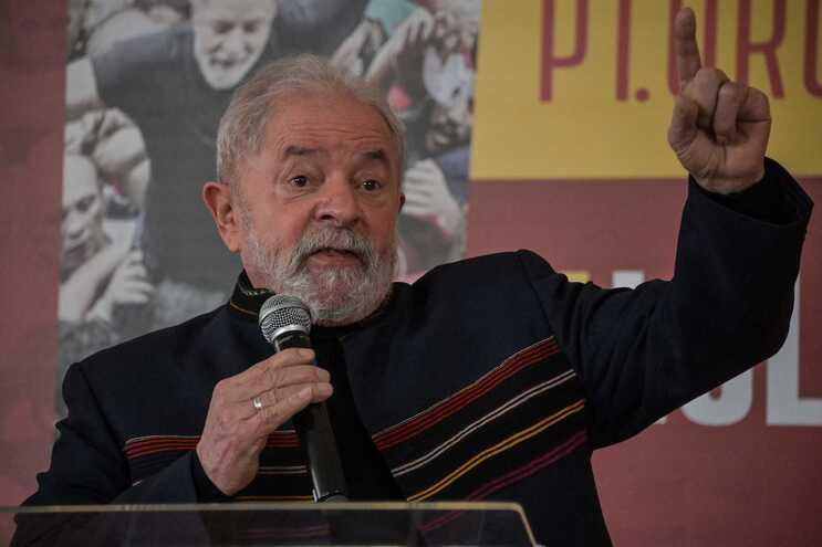 O ex-presidente brasileiro Luiz Inácio Lula da Silva