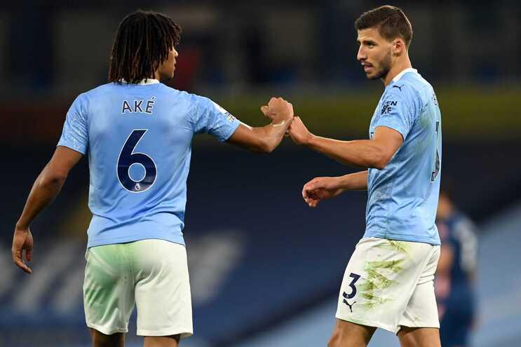 O Manchester City venceu este sábado