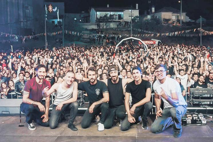 Hybrid Theory num duplo concerto, em Faro, em maio deste ano