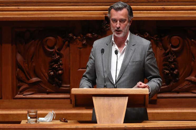 O deputado da Iniciativa Liberal, João Cotrim de Figueiredo