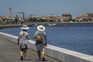 Passadiços entre praias da Barra e Costa Novaabrem no sábado