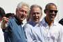 Bill Clinton, George W. Bush e Barack Obama admitem tomar publicamente a vacina contra a covid-19