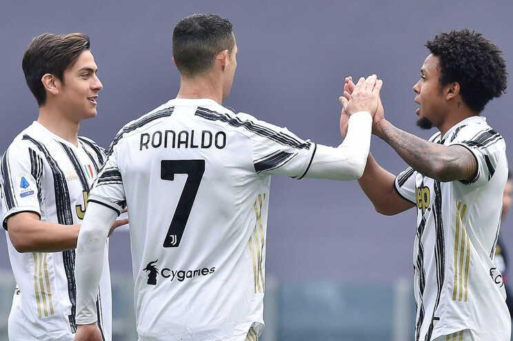 A Juventus venceu este domingo