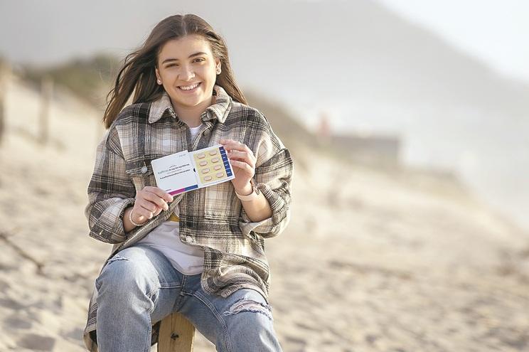 Eda, de 16 anos, foi a primeira doente a ser tratada com o Kaftrio em Portugal