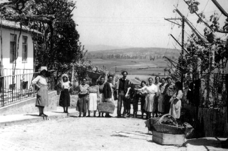 Trapicheiras de Valença nos anos 1930, nos preâmbulos da Guerra Civil Espanhola