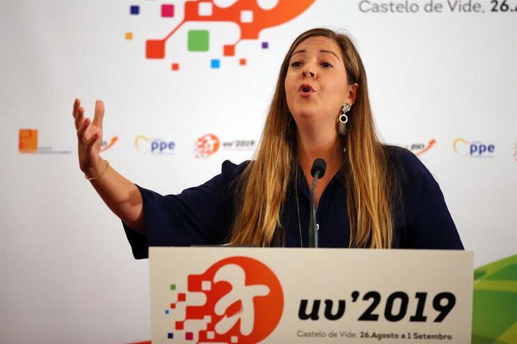 Margarida Balseiro Lopes, presidente da JSD, anunciou realização de referendo interno