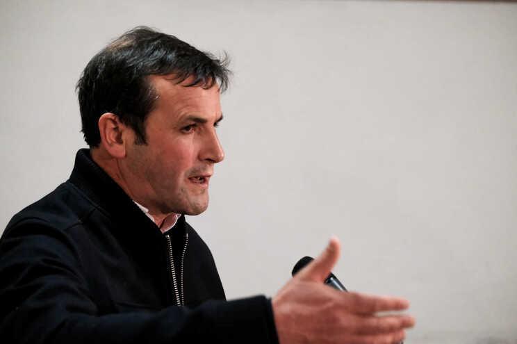 Vitorino Silva, conhecido como Tino de Rans, é presidente do partido RIR
