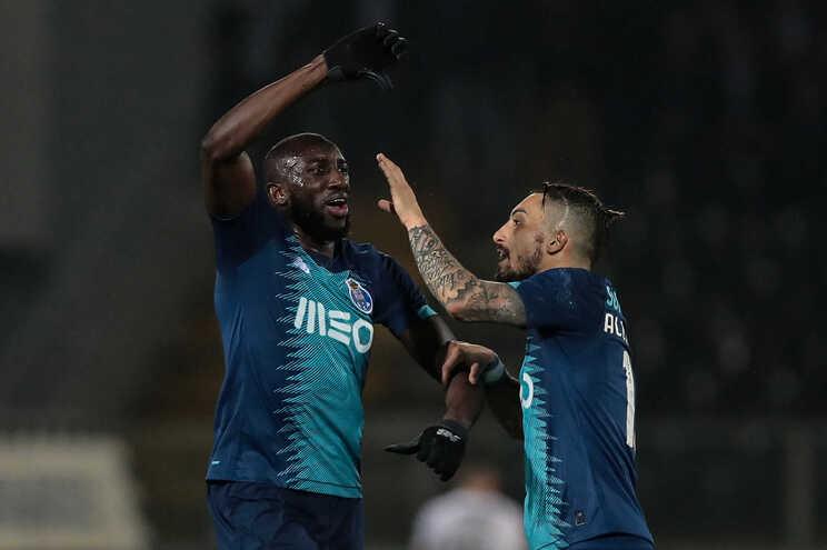 Marega, avançado do F. C. Porto