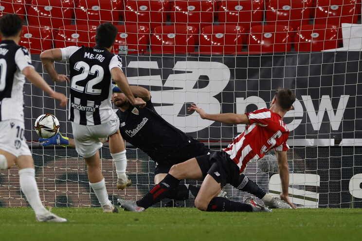 Athletic Bilbau e levante empataram para a Taça do Rei