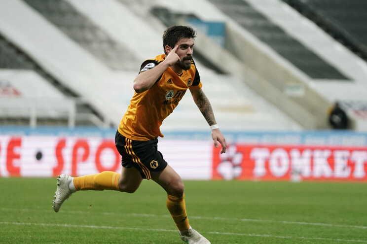 Rúben Neves marcou este sábado