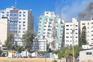 Imagens do ataque israelita a um edifício de comunicação social