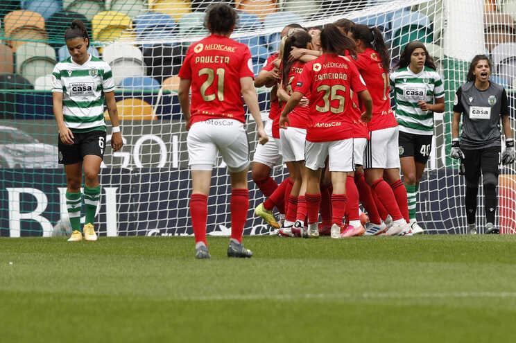 O Benfica venceu o Sporting este sábado