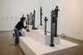 Exposição do escultor João Cutileiro, no Museu do Côa