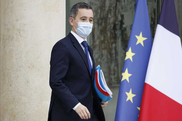 Ministro do Interior Francês, Gérald Darmanin