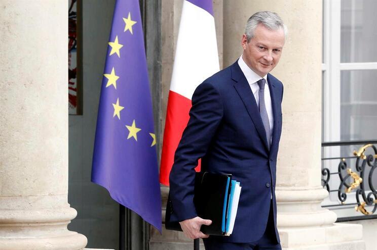 O ministro francês das Finanças, Bruno Le Maire, anunciou medida