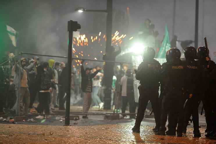 PSP efetuou 617 disparos de balas de borracha para conter os excessos dos festejos do título do Sporting