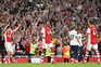 O Arsenal venceu este domingo