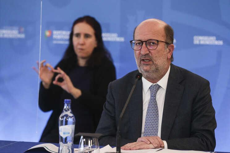João Pedro Matos Fernandes,  ministro do Ambiente e da Transição Energética