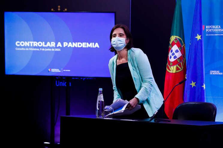 A ministra da Presidência e da Modernização Administrativa, Mariana Vieira da Silva