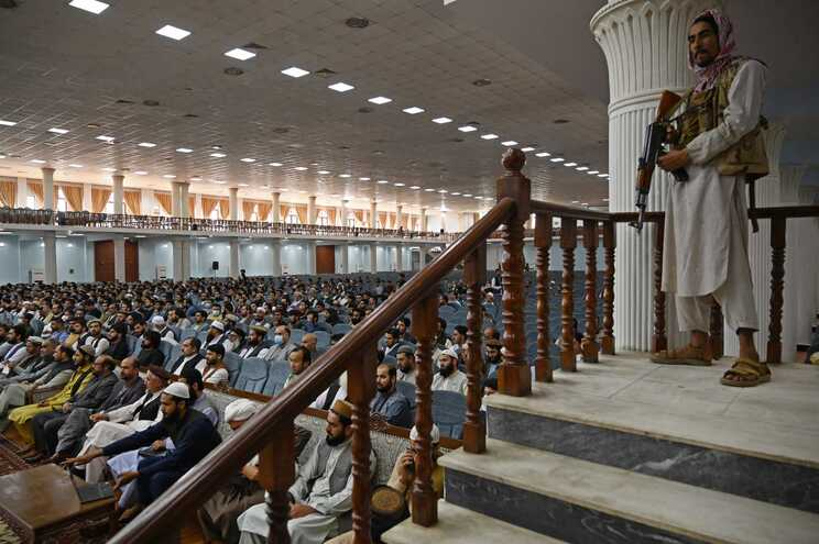 Na reunião que se realizou em Cabul, na qual participaram outros responsáveis talibãs, não esteve nenhuma
