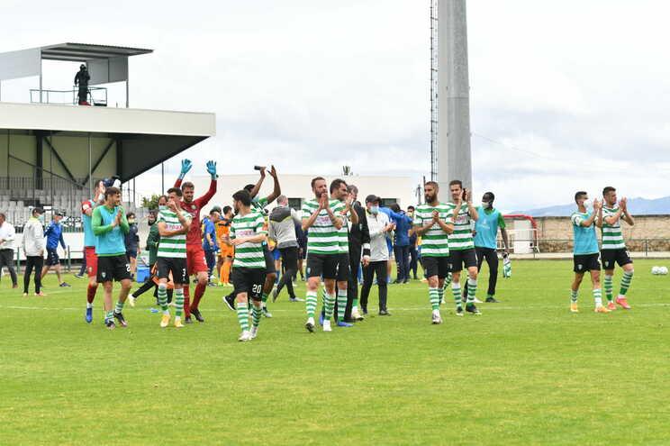 Sporting da Covilhã defrontou o Estoril este domingo