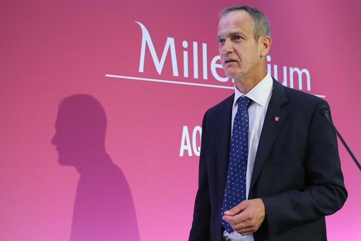 Miguel Maya, CEO  do BCP, o último dos quatro grandes bancos a apresentar contas