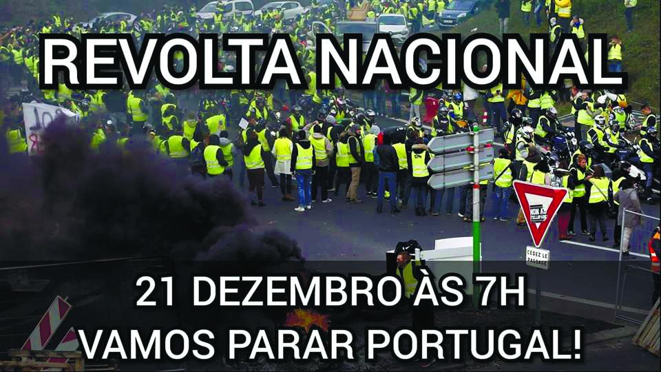 Imagem de apelo à mobilização
