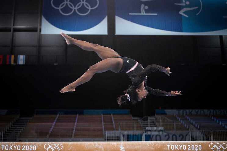 Simone Biles quer tornar-se a primeira mulher a concretizar o salto Yurchenko com duplo mortal nos Jogos