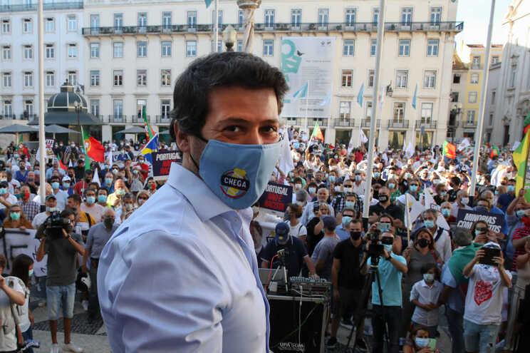 André Ventura, líder demissionário do Chega