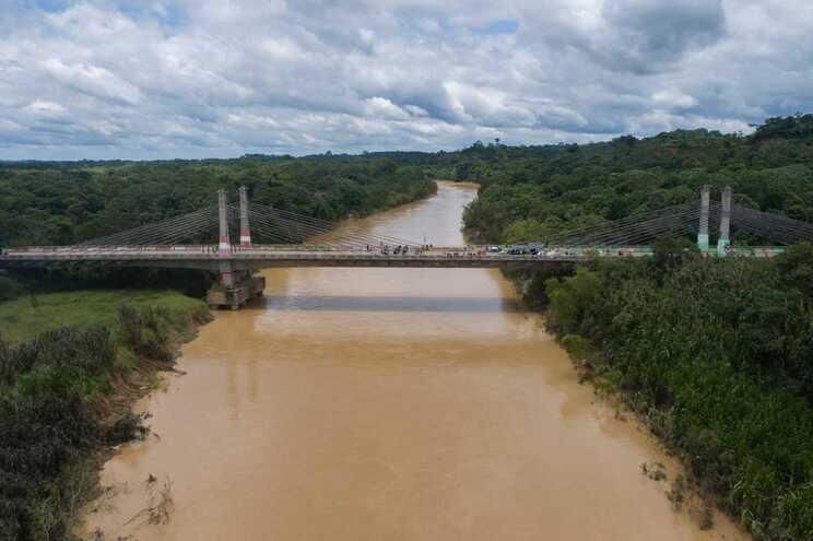 Floresta amazónica, na fronteira entre Brasil e Peru