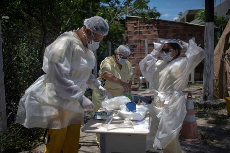 Testes em São Gonçalo, Rio de Janeiro