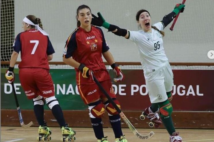 Raquel Santos marcou o golo de Portugal