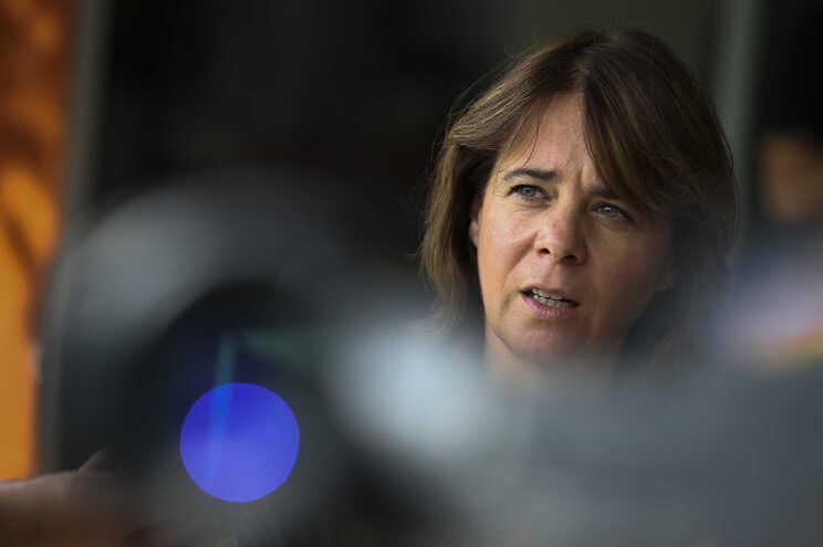 Catarina Martins, líder do BE